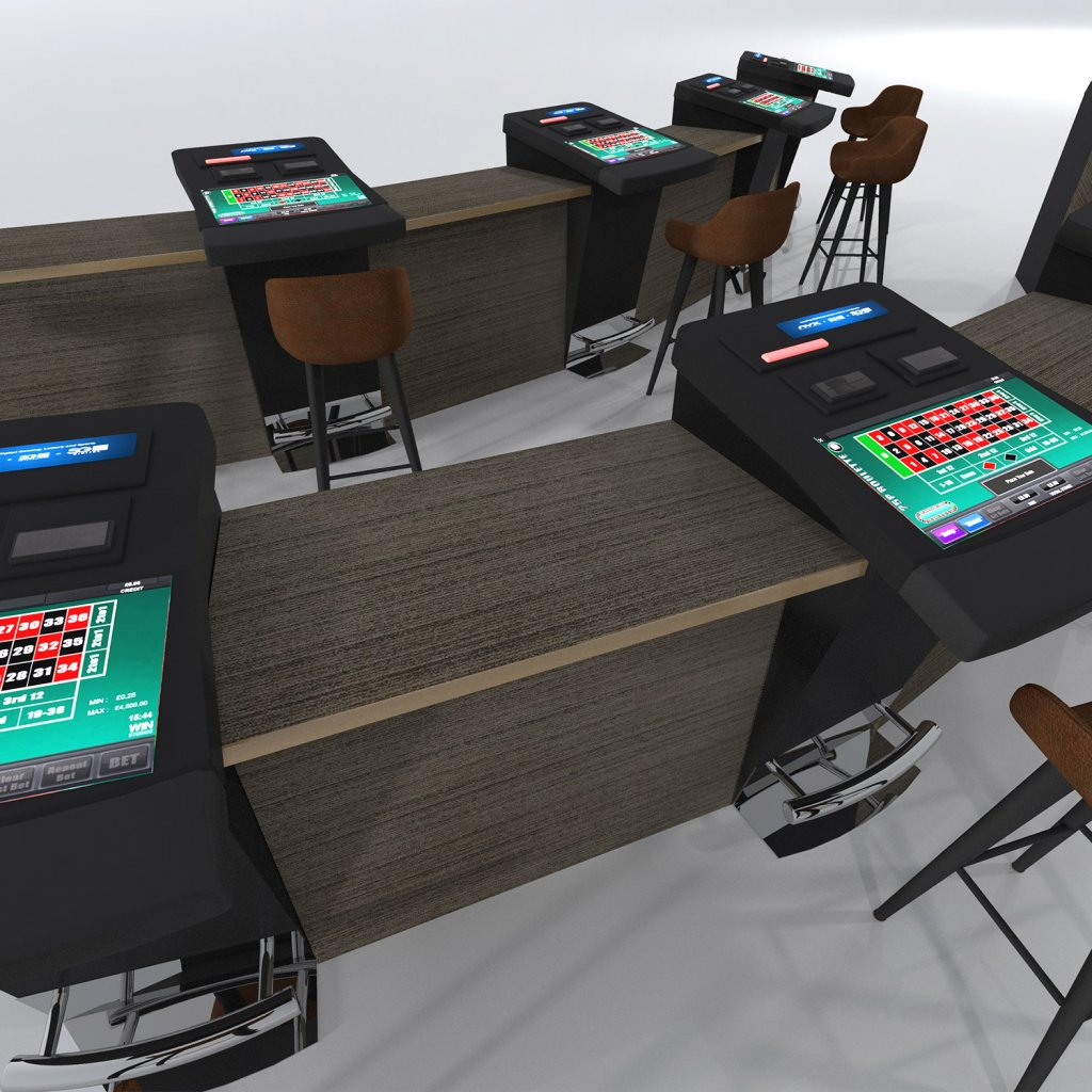 Electronic Gaming Table Infills